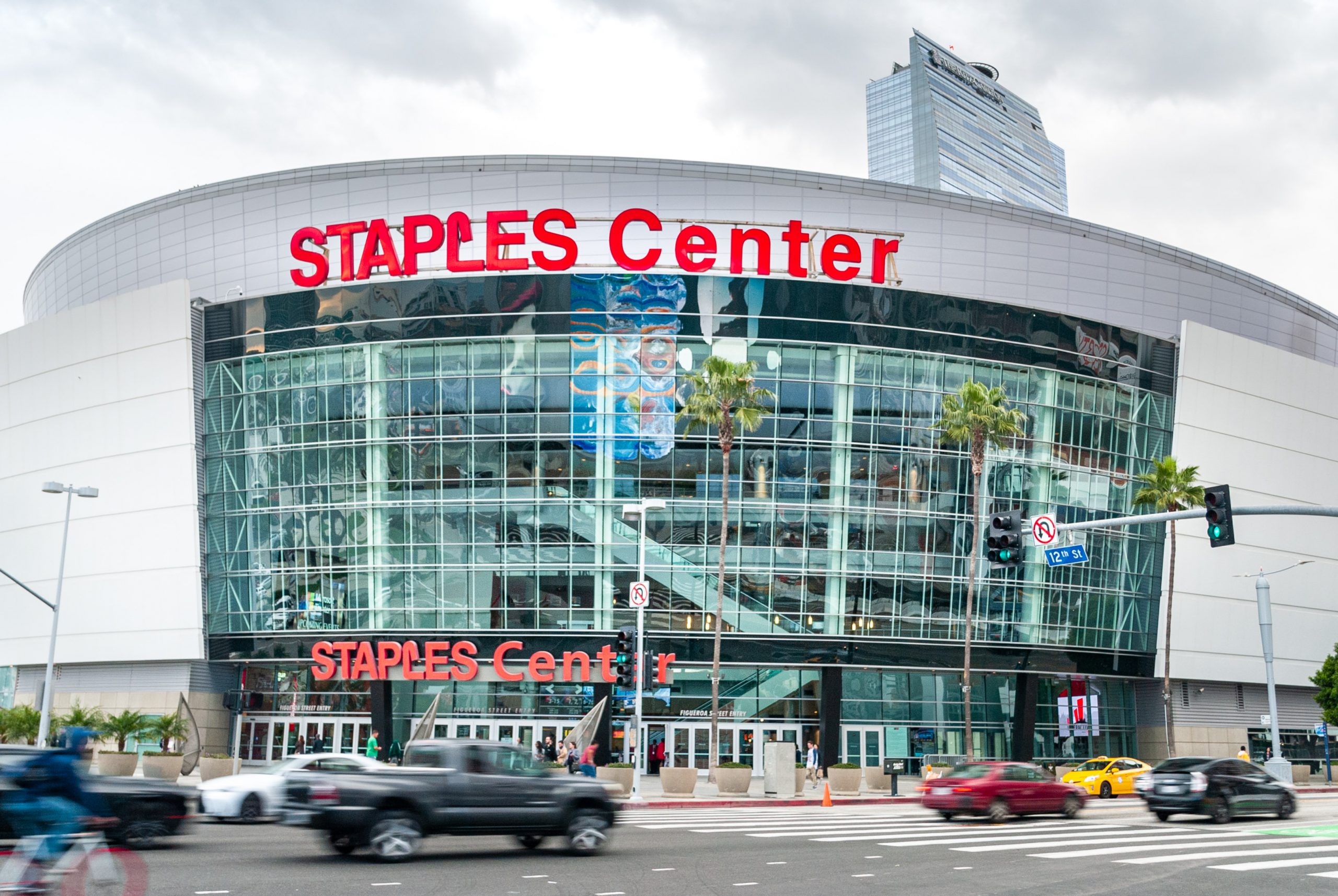 staples center fuelster partner